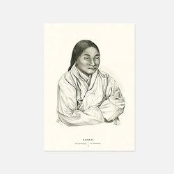 아트인데코 한국과 한국인엽서-판화06