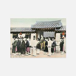 아트인데코 한국과 한국인엽서-풍속15
