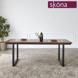 비엘르 원목 2100 식탁 테이블
