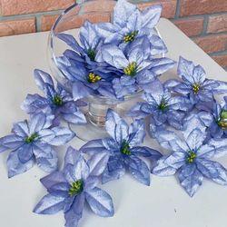 포인꽃 12cm 라벤더 24개 세트