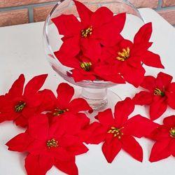 포인꽃 12cm 포인세티아 24개 세트