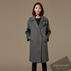 60 Wool Gray coat