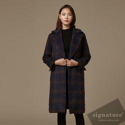 Check twice coat