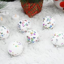 오색볼60파이6입  크리스마스 트리꾸미기 성탄절