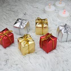 칼라선물40파이6입  크리스마스 트리꾸미기 성탄절