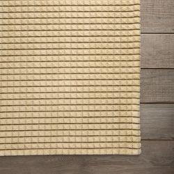 미니 스퀘어 엠보 러그-허니 옐로우(170x230cm)