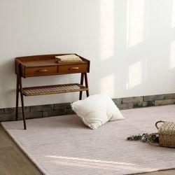 셀렙 스트라이프 러그-핑크 베이지(100x140cm)
