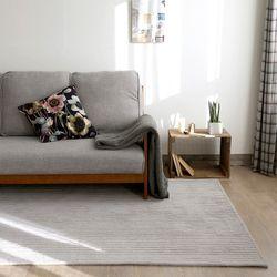 셀렙 스트라이프 러그-퓨어 그레이(100x140cm)