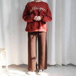 Wide knit pants2