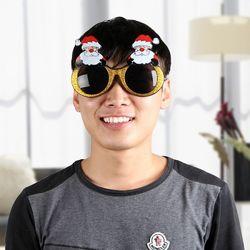 산타클로스 파티 안경