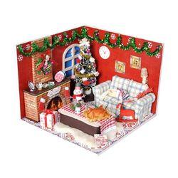 [adico]DIY 미니어처 하우스 - 메리 크리스마스
