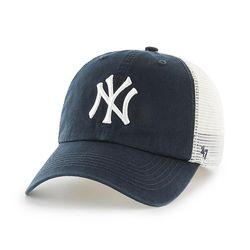 47브랜드 MLB모자 뉴욕 양키즈 네이비 메쉬