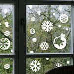 [S사이즈]크리스마스 눈꽃 스티커 - 21종 디자인