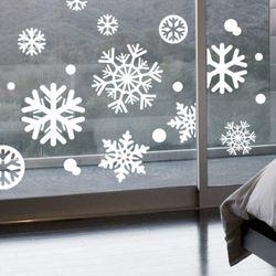 [M사이즈]크리스마스 눈꽃 스티커 - 21종 디자인