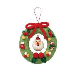 크리스마스 펠트 wreath NP-LI24-A