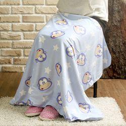 따뜻한 다용도 담요 (원숭이) (100x75cm)