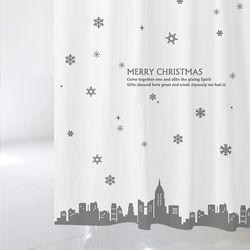 [샤워 커튼] 크리스마스 csc 03