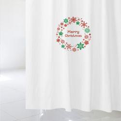 [샤워 커튼] 크리스마스 csc 02