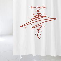 [샤워 커튼] 크리스마스 csc 01