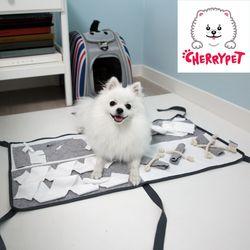 체리펫 후각놀이담요 강아지 간식 노즈워크 훈련매트