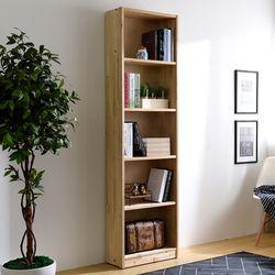 청사초롱 삼나무 원목 책장 570