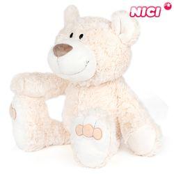 [NICI]니키 베이지 베어 50cm 댕글링-35073
