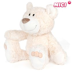 [NICI]니키 베이지 베어 35cm 댕글링-35072