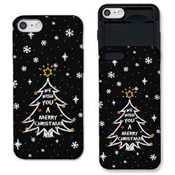 [아이폰7+] 크리스마스 트리 블랙 S3002B 슬라이더