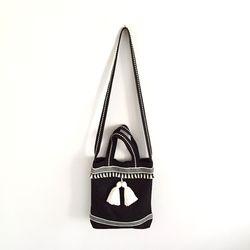 tassel bag black (크로스)