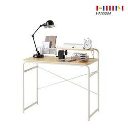아이비  일자형 책상 1000 내추럴 DIY
