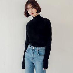 [로코식스] warm cotton high-neck T티셔츠
