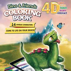 4D 공룡과 친구들 AR 컬러링북