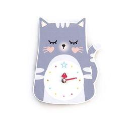 북유럽 벽시계 시리즈 [고양이] (무소음)