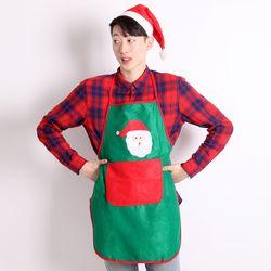 산타주머니 앞치마 (그린)