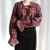 String check blouse