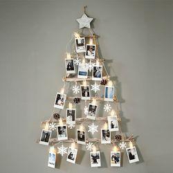 크리스마스 풀세트 벽트리 집게전구