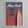 유니크 인테리어 디자인 포스터 M 뉴욕2 A3(중형)