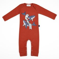 Red Whale Jumpsuit