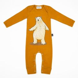 Mustard Bear Jumpsuit
