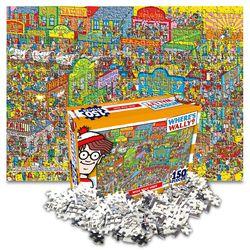 월리를 찾아라 직소퍼즐 150pcs 거친 서부시대