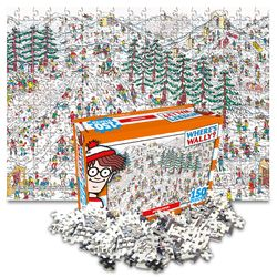 월리를 찾아라 직소퍼즐 150pcs 스키 폴 다운