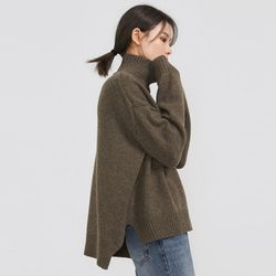 joy unbalance wool polar knit