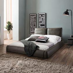 클라우드 저상형 가죽 침대(DH 7존 독립스프링 매트Q)