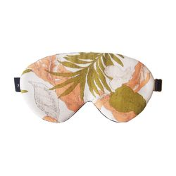 palmtree silk sleep mask
