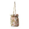 cotton bucketbag palmtree