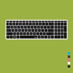[HP]파빌리온 15-CC 시리즈용 문자인쇄키스킨(HP20)