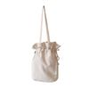 cotton bucketbag ivory