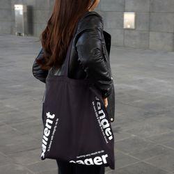 세컨백(2nd bag) - charcoal