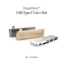 하이퍼드라이브 USB 타입C 허브  5-in-1포트  SD지원