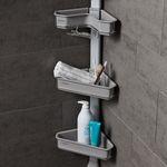 맥맨 시스템 욕실 선반 2EA (평면형 코너형)